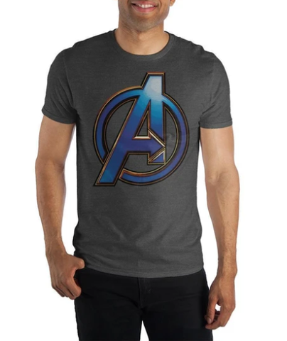 Avengers Logo Men's T-shirt I Animated Apparel Company