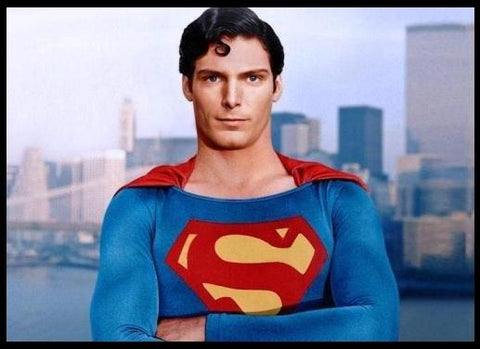 Image of Christopher Reeves Superman
