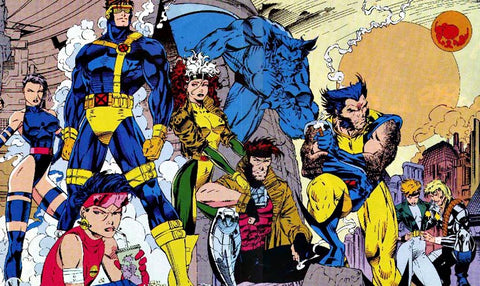 Image of X-men comic book cast