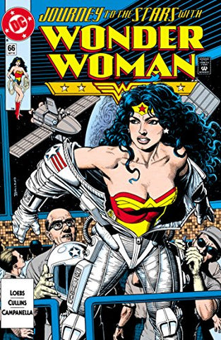 Image of comic book cover of Wonder Woman drawn by William Messner-Loeb - Animated Apparel Company