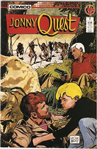 Johnny Quest No. 7 Issue Drawn by William Messner-Loeb - Animated Apparel Company