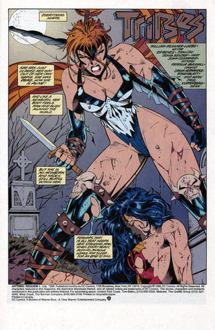 Comic book panel of Artemis drawn by William Messner-Loeb - Animated Apparel Company