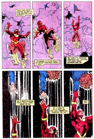 The Flash Comic book panel drawn by William Messner-Loeb - Animated Apparel Company