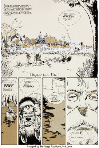 Image of the comic book Journey drawn by William Messner Loeb - Animated Apparel Company