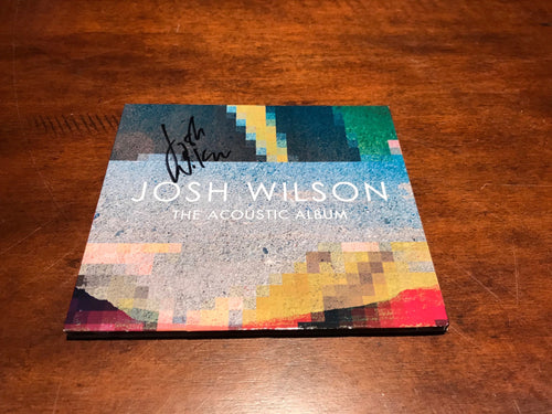 The Acoustic Album - Autographed CD
