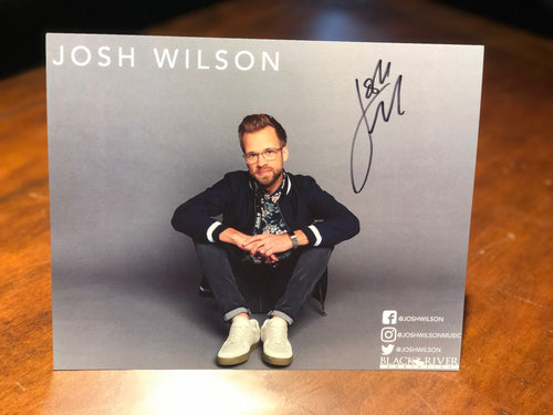 Josh Wilson Autographed 8x10 Poster