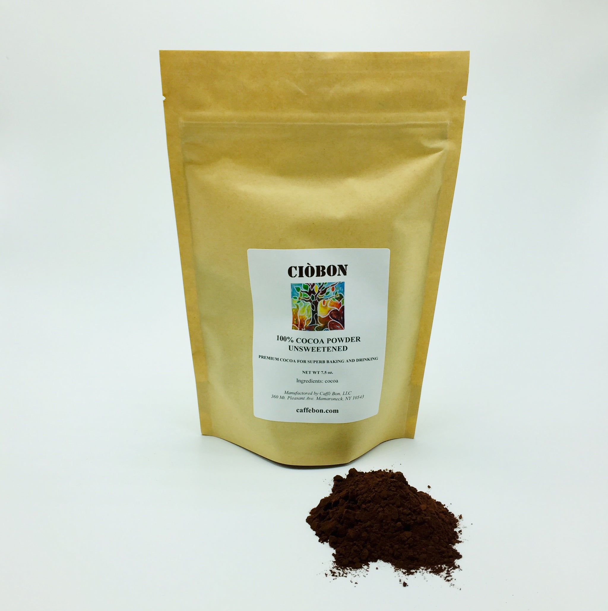 CIÒBON COCOA POWDER    7.5 oz.