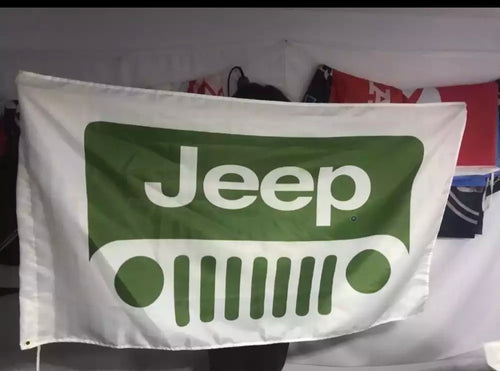 Big Jeep Flag
