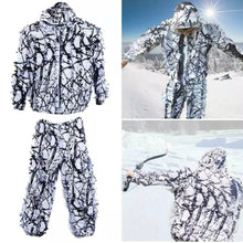 Load image into Gallery viewer, Snow Camouflage Ghillie Suit