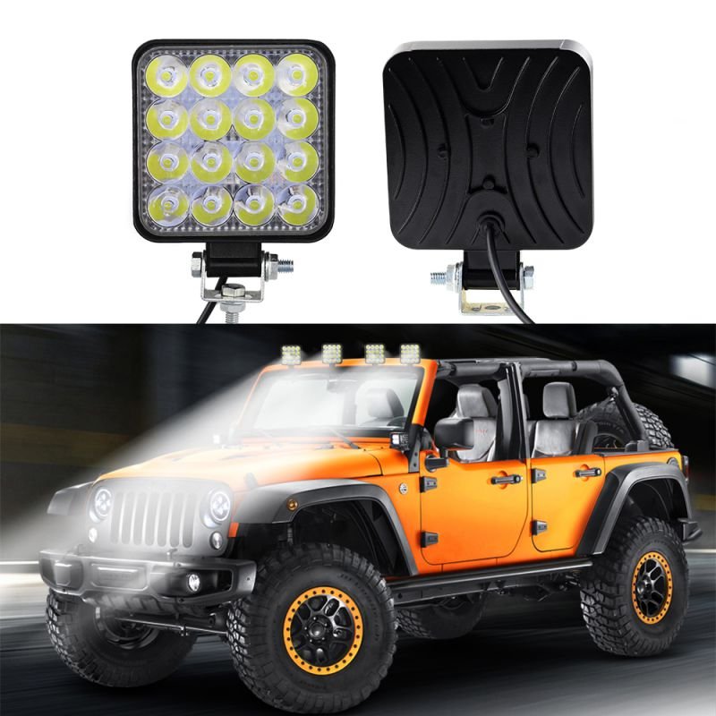 Square 48W LED Fog Lamp