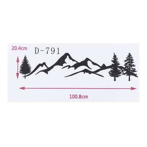 Mountain Decal Sticker