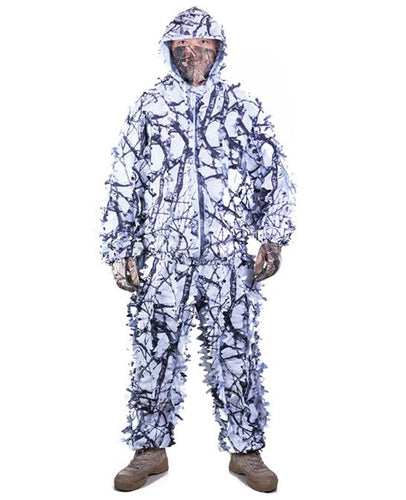 Snow Camouflage Ghillie Suit