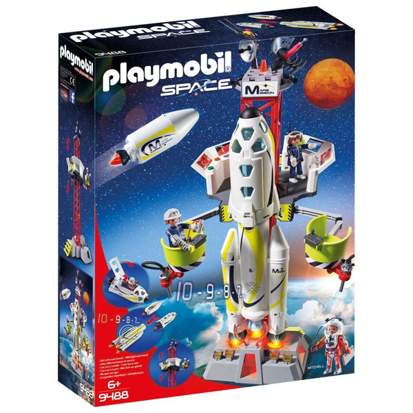 Playmobil Mission Rocket with Launch Site