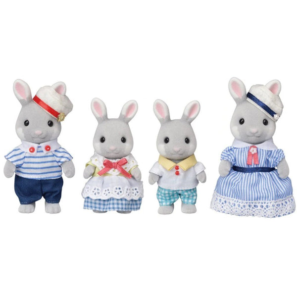 Sylvanian Families - Limited Edition Sea Breeze Rabbit Family