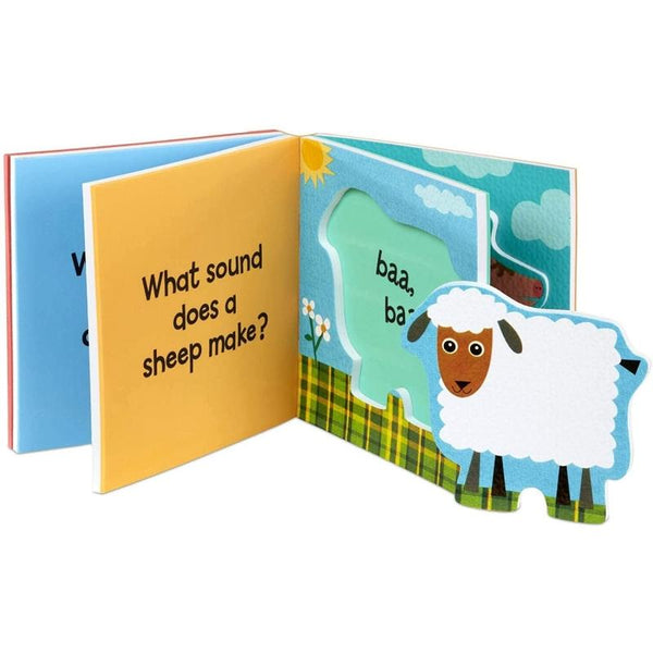 Melissa & Doug - Baby Soft Shape Foam Book - Farm Animal