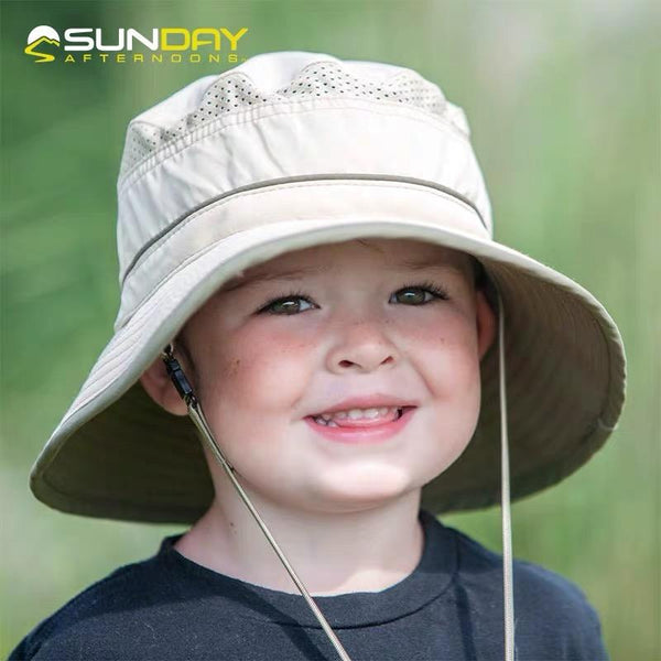 Sunday Afternoons Kids Fun Bucket Hat Reptile Green