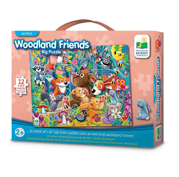 Learning Journey - My First Big Floor Jigsaw Puzzles - Woodland Friends