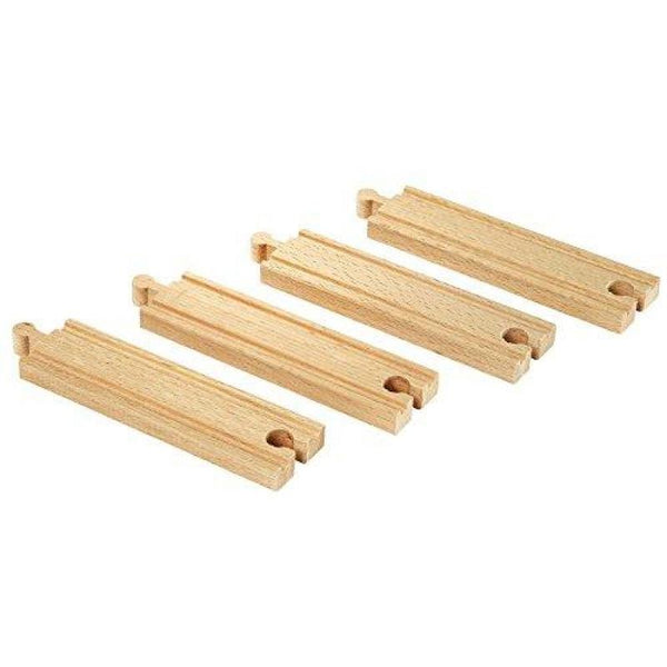 BRIO Tracks - Medium Straight Tracks, 4 pieces - BRI33335