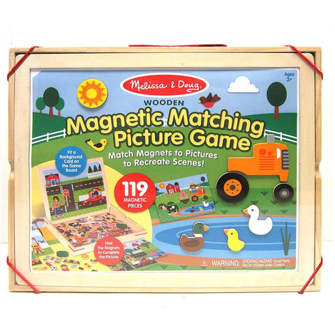 Melissa & Doug - Wooden Magnetic Picture Game