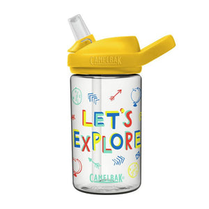 eddy+ Kids 14oz Bottle with Tritan™ Renew- LET'S EXPLORE
