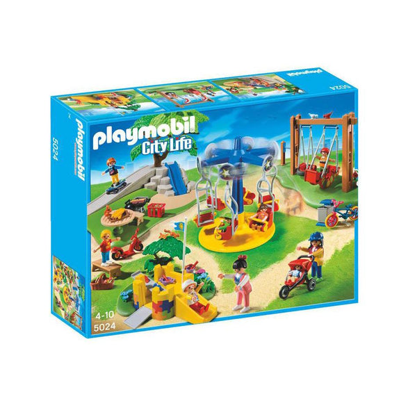 Playmobil City Life Children's Playground