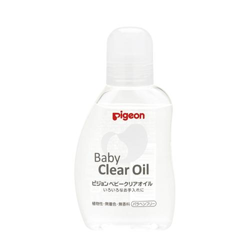 Pigeon Baby clear oil 80ml-Made in Japan