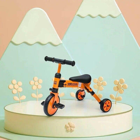 Kiwicool Foldable Toddler  Balance Tricycle