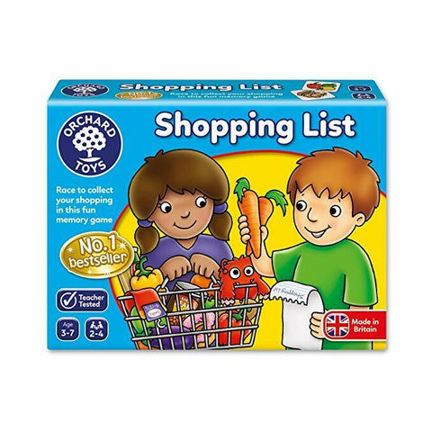 Orchard Toys - Shopping List /Fruit & Veg Extra/ Clothes Extra