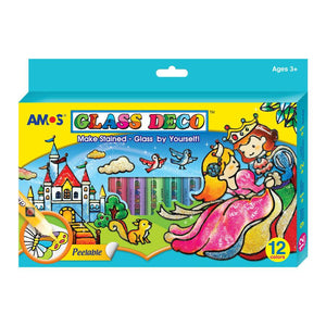 AMOS - Glass Deco 10.5ml 12 colours