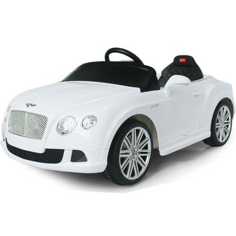 RASTAR Licensed Bentley GTC 12V Electric Ride On Car White