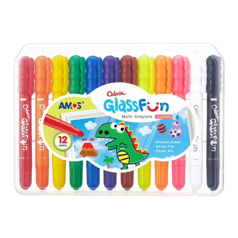 AMOS Glass fun 12 pack