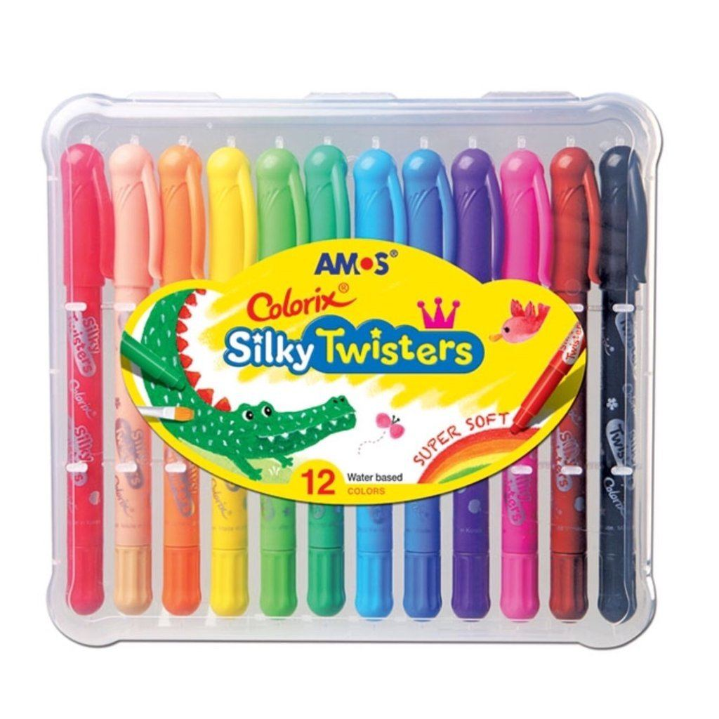 AMOS Colorix Silky Twisters 12 pack