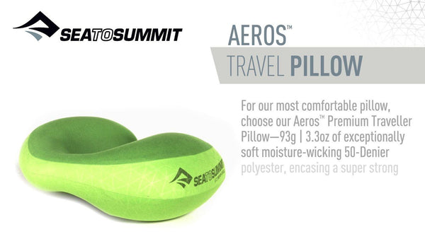 Sea to Summit Aeros Premium Traveller Compact Inflatable Pillow