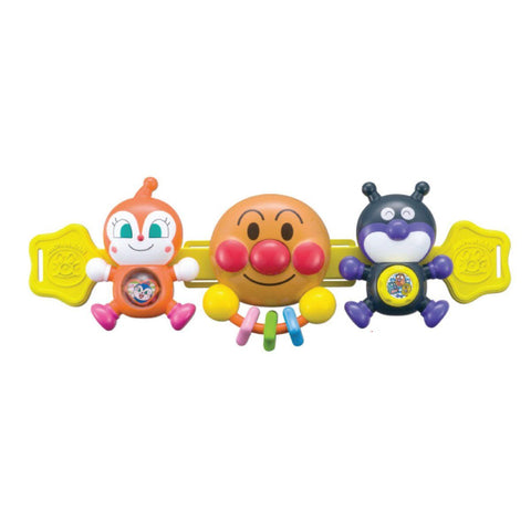 Agatsuma Anpanman Outing Stroller Friends - 面包超人