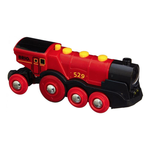 BRIO B/O - Mighty Red Action Locomotive