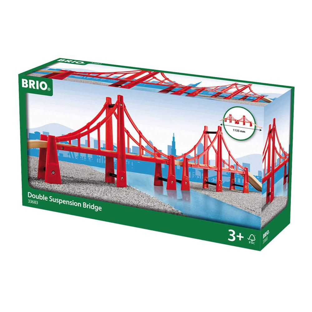 BRIO Bridge - Double Suspension Bridge, 5 pieces
