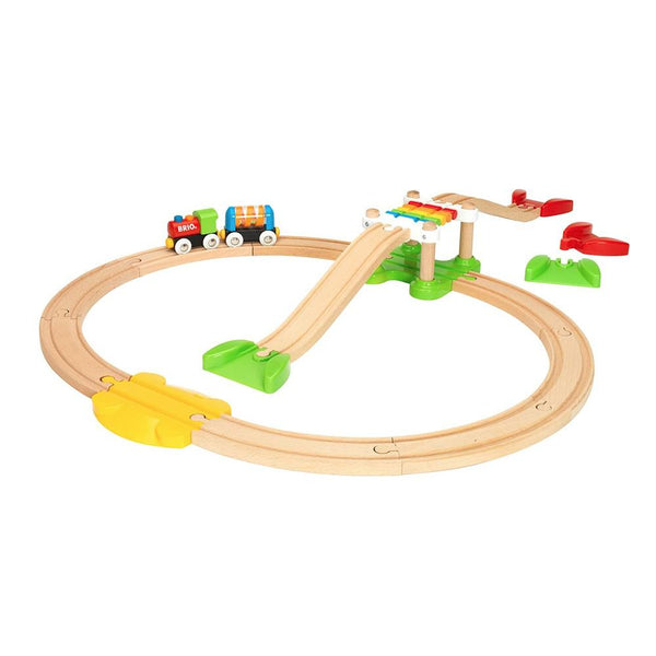 BRIO My First - My First Railway Beginner Pack, 18 pieces