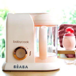 Beaba Babycook baby food machine solo-Pink