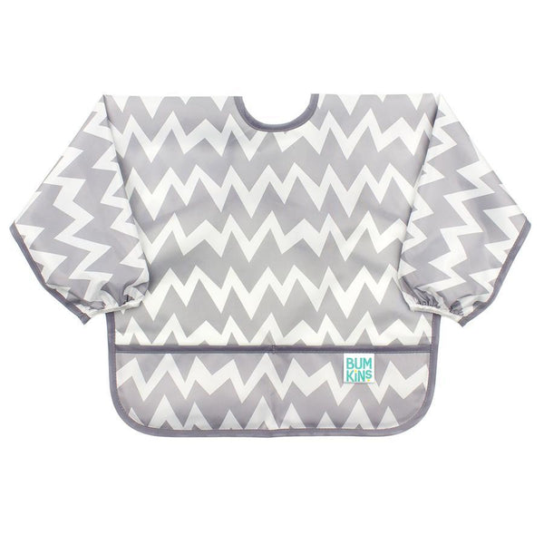 Bumkins - Waterproof Sleeved Bib - Feathers