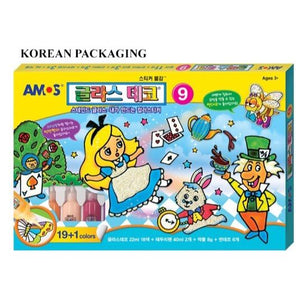 AMOS Glass Deco 22m* 20 pc (Korean Version)