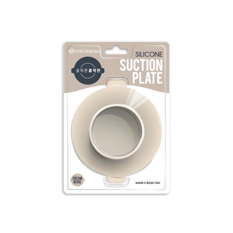 Grosmimi Silicone Suction Plate for Food Jar and Food Tray
