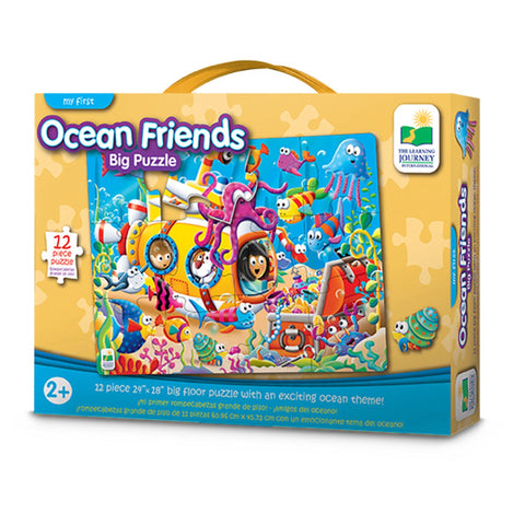 Learning Journey - My First Big Floor Jigsaw Puzzles - Ocean Friends
