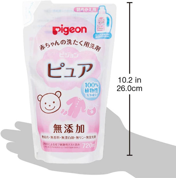 Pigeon Baby cleaning detergent Pure Refill 720ml- Made in Japan