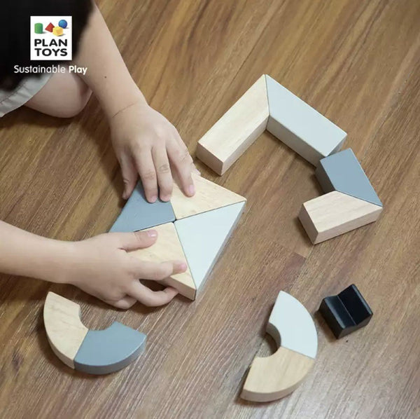 PlanToys - Twisted Blocks