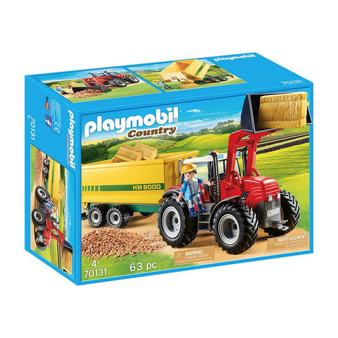 Playmobil - Tractor with Feed Trailer - PMB70131