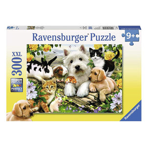 Ravensburger - Happy Animal Babies Puzzle 300pc Jigsaw Puzzle