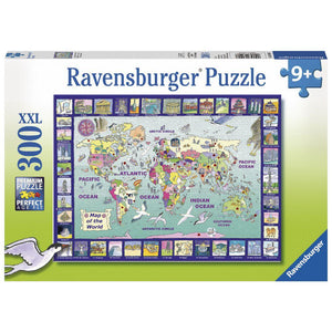 Ravensburger - Looking at the World Puzzle 300pc Jigsaw Puzzle
