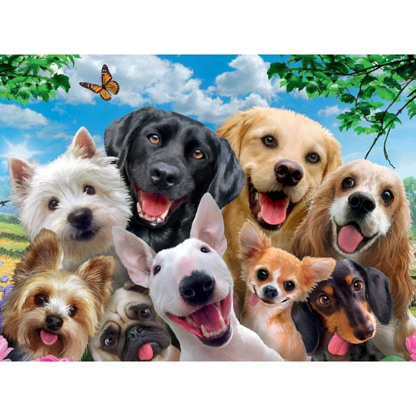 Ravensburger -  Delighted Dogs Puzzle 300pc Jigsaw Puzzle