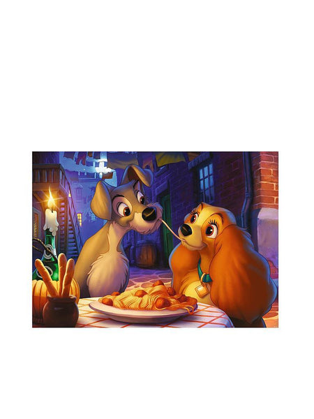 Ravensburger - Disney Moments 1995 Lady and Tramp 1000pc Jigsaw Puzzle