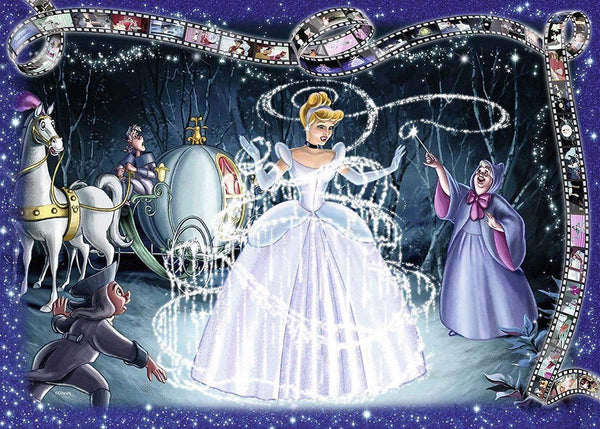 Ravensburger - Disney Moments 1950 Cinderella 1000pc Jigsaw Puzzle